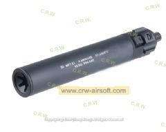 Angry Gun Power Up Silencer for KSC/KWA/Umarex MP7 SMG (Black)